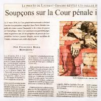 Soupçons sur la Cour pénale internationale (Le Monde Diplomatique, Avril 2016)